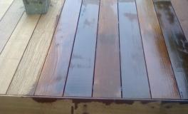 decking legno brescia