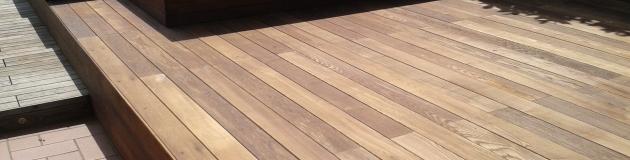 pavimenti in legno decking