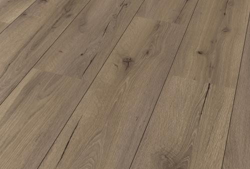 Pavimento in laminato - D 02 ROVERE MARRONE FUMO 1451