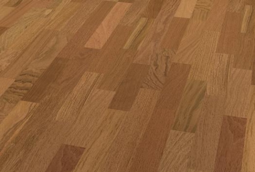 3 Strip Floor bilanciato - Jatoba red brown