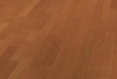 3 Strip Floor bilanciato - Beech henna red