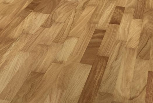 3 Strip Floor bilanciato - Doussie cinnamon red
