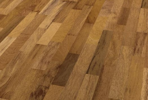 3 Strip Floor bilanciato - Merbau blazing brown