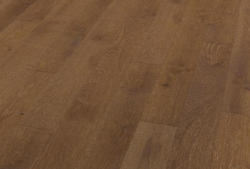 Tavolato stretto (espressivo) - Oak rust brown