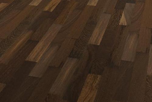 3 Strip Floor bilanciato - Wenge black brown