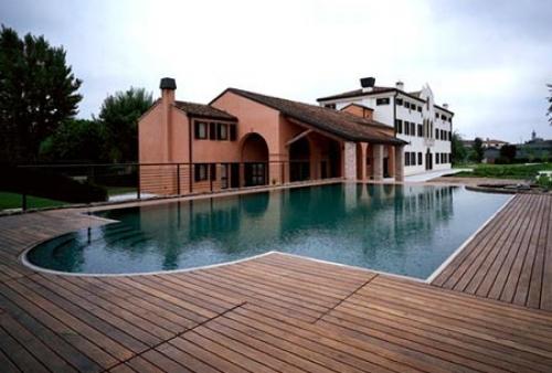 legno per esterni DECKING essenza Ipé a doghe - piscina - Pavimento in legno esterno in Ipé