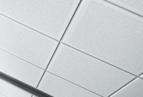 controsoffittatura con pannelli in fibra minerale - controsoffitto