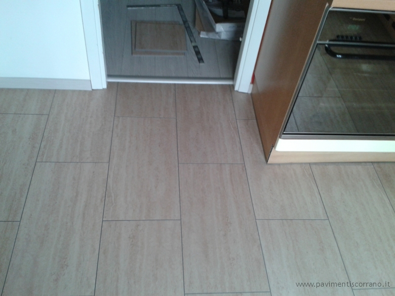 Great pavimento in pvc decoro desert travertine with - Ikea pavimenti in laminato ...