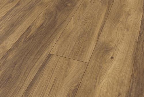 Pavimento in laminato Cl AC4/32 spessore mm 10 - Noce marrone seppia 1489