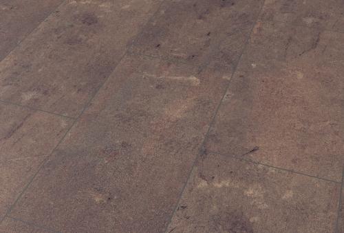 Pavimento in laminato Cl AC4/32 spessore mm 8 - basalto rosso autunno 1438