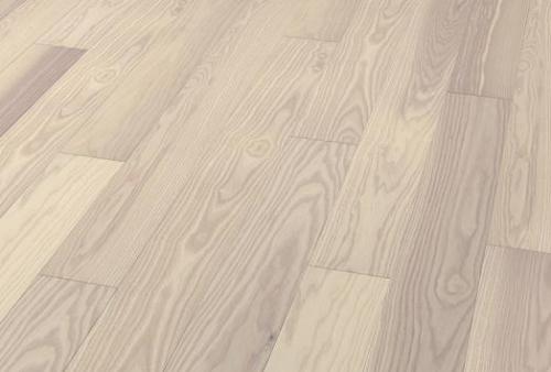 parquet prefinito 3 strip - Frassino bianco violetto