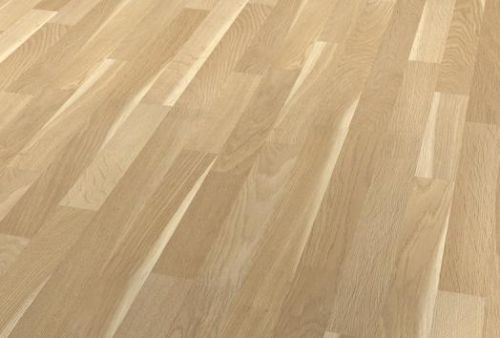 3 Strip Floor - Oak sapwood beige