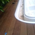 Pavimento in legno esterno in frassino termo trattato