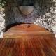 ipè - pavimento in legno esterno - creazione pedana in quota