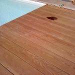 Pavimento in legno esterno Ipè - bordo piscina - larghezze miste