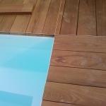Pavimento in legno esterno in Ipé