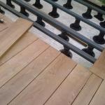Ipé - sottostruttura per quote in piedini regolabili e magatelli in WPC