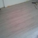 Pavimento in laminato Rovere Light formato plancia intera spessore mm 12