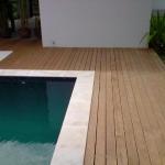 Pavimento in legno esterno in Pino Impregnato sottovuoto